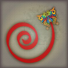 GraphicDesignFun: Create Spiral and Butterfly Composition in Illustr...