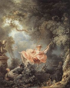 Jean-Honore Fragonard The Swing art painting for sale; Shop your favorite Jean-Honore Fragonard The Swing painting on canvas or frame at discount price. Rococo Painting, Swing Painting, Painting Art, Painting Flowers, Painting Videos, Renaissance Kunst, Renaissance Dresses, Classic Paintings, French Paintings