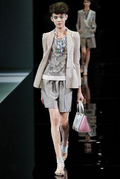 Giorgio Armani - Spring/Summer 2014 Milan Fashion Week