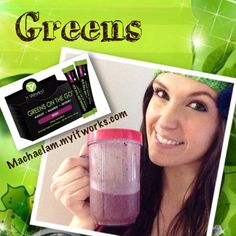 Text GREENS to me at (360) 519-7847 or visit machaelam.myitworks.com