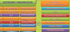 [EXCEL OPS] Aplikasi Olah Nilai Kelas 6 SD KTSP Ms. Excel Terbaru 2015 [.xls]