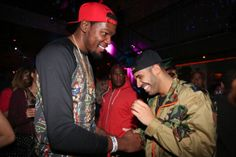 cool Drake's new friend Kevin Durant