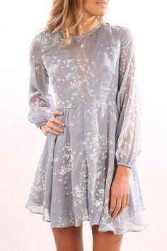 Becka Dress Blue