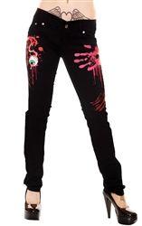 Jist Zombie Womens Skinny Jeans