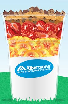 Help me WIN @Albertsons PerfectParfait sweepstakes by voting for my creation! Click the pin :D!