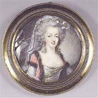 La reine Marie-Antoinette, late 18th century, attributed to Jean Baptiste Jacques Augustin