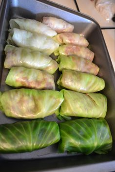 Polish Cabbage Rolls-- my grandma used to make these and I got to try them again in Poland this past semester! So tasty....and cultural :)