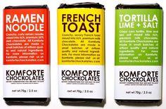 Komforte Chockolates collection