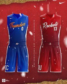 2018 NBA Christmas Day Jersey Concepts on Behance Basketball Kit, Basketball Uniforms, Best Nba Jerseys, Sports Jersey Design, Graphic Design Art, Art Direction, Behance, Branding, Rompers