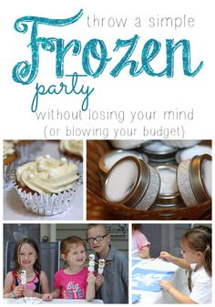 It's a Long Story: How To Throw A Simple Frozen Party Without Losing Your Mind (or blowing your budget!)