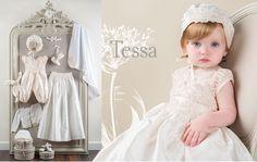 Tessa Heirloom Christening Collection #babybeauandbelle and #dreamchristening
