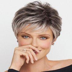 Short Shag Hairstyles, Short Hair Wigs, Best Short Haircuts, Hairstyles With Bangs, Layered Haircuts, Short Hair Over 60, Cute Pixie Haircuts, Messy Short Hair, Anime Hairstyles