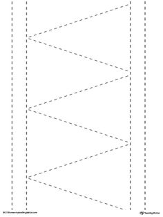 **FREE** Line Tracing: Diagonal and Straight Lines Worksheet.Tracing lines reinforces fine motor skills in your child and prepares them for writing.