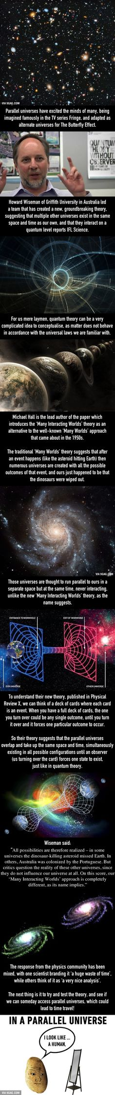Scientists Confirm Parallel Universes Really Exist