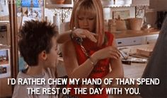 "When you started to seriously hate your roommate: | Community Post: 27 Times ""Lizzie McGuire"" Perfectly Captured College Life"