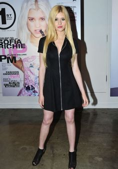 Katherine McNamara – POPULAR Launch Party Sponsored by Wildfox in Los Angeles, April 2015 Style