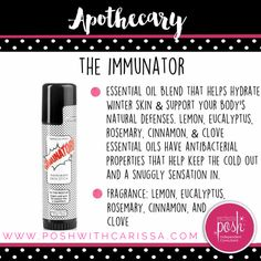 This new skin stick is going to be amazing for #backtoschool 🙌🏼 I'm willing to do anything to help with germs!! $14 gets you The Immunator Skin Stick! #perfectlyposh #poshwithcarissa