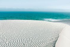 Sand dunes in the De Hoop Nature Reserve, South Africa's Western Cape. Photograph by David Crookes.