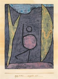 1939 Ergeht sich by Paul Klee                                                                                                                                                                                 More