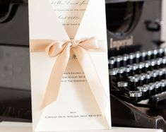 Maia Boxed Wedding Invitations Wedding by WholeCaboodleDesign