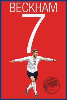 Soccer Art, Soccer Poster, Football Art, England Football, Lion Art, Charming Man, Deviant Art, David Beckham, Graphic Design Art