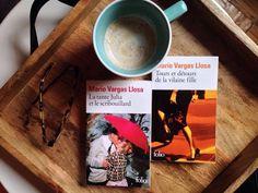 Le fil rouge recommande : Si vous recherchez des romans qui mettent en scène des fabuleuses histoires d'amour qui traversent les années, voire des décennies et qui par le fait même, vous font découvrir d'autres cultures et sociétés,  Mario Vargas Llosa est l'auteur à découvrir. Coup de coeur assuré de mon côté. J'y retrouve du Gabriel Garcia Marquez que j'aime déjà tant. ⠀ #lefilrougelit#liretv #instalivre #bibliothérapie #instalecture #bouquineriethérapie #bookworn #lecture…