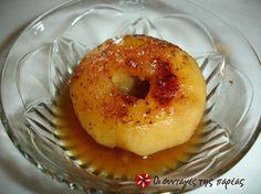 Greek Desserts, Greek Recipes, Fruit Pie, Fruit Dessert, Appetisers, Bagel, Sweet Home, Sweets, Bread
