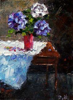 Flowers in a Vase - Debra Hurd