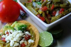 Easy, Authentic, Delicious, and Different: Mexican Cactus Salad