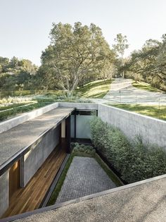 sunken courtyard | walker workshop