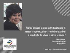 Urban Intelligence sustine Asociatia Romana pentru Smart City si Mobilitate- Sarolta Besenyei