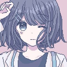 Anime Pixel Art, Anime Art, Animes Wallpapers, Cute Wallpapers, Aesthetic Art, Aesthetic Anime, Arte 8 Bits, Pixel Drawing, Pixel Characters