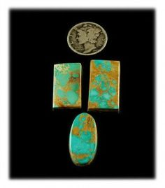 Aqua Blue Royston Turquoise Cabochon collection available at Durango Silver Company for $120.00. This is a wonderful collection of high grade American Turquoise from Nevada's most important and historic Turquoise Mine.