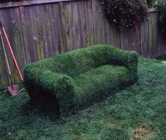 FARM SHOW - Sod Sofa Turns Lawn Into Lounge