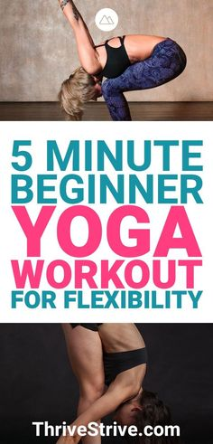 Yoga Poses & Workout : Yoga is going to increase your flexibility. Some yoga workouts are going to do this better than others. Here is a yoga workout that will greatly improve your flexibility. Beginner Yoga Workout, Workout For Beginners, Free Workout, Learn Yoga, How To Do Yoga, Yoga Sequences, Yoga Poses, 5 Minute Yoga, Yoga Positions