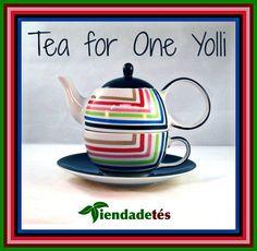 ¡¡Comenzamos la semana con una explosión de color en www.tiendadetes.com!! ¡¡Tea for one Yolli, tetera y taza todo en uno, de original diseño!! #FelizLunes #Té #Tea #TeaTime #Infusiones #Tiendadetés #ComprarTé #TeaForOne #Tetera #AccesoriosTé
