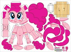 paper, My Little Pony:Friendship Is Magic My Little Pony Cumpleaños, Fiesta Little Pony, Little Poney, My Little Pony Friendship, Paper Toys, Paper Crafts, Paper Paper, Imprimibles Toy Story Gratis, Imagenes My Little Pony