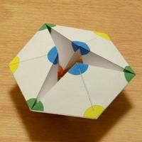 hexagonal kaleidocycle template