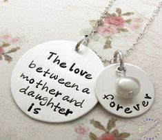 Mother & Daughter Jewelry, Personalized