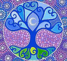 «Moon-Tree Mandala» de Elspeth McLean