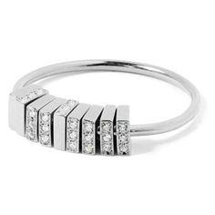 MEHEM silver ring cubic zirconia MH114-JR168-601 #mehem #ring #silver #rhodiumplated #cubiczirconia #em #emgrp