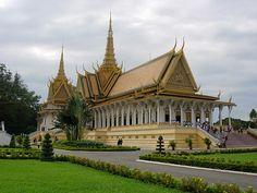 The Silver Pagoda, Phnom Pehn, Camboya