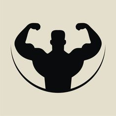 bodybuilder outline vector Source by Branding Design, Logo Design, Graphic Design, Web Design, Vector Design, Sports Illustrated, Bodybuilding Logo, Gym Logo, Bodybuilder