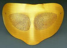 Man Ray, Gold Mask, 1974