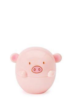 Pig-Shaped Lip Balm | Forever 21 | #beautymark