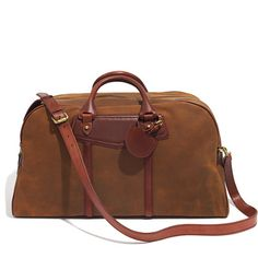 The Excursion Duffle - View All Gifts - GiftGuide2013_Mobile - Madewell