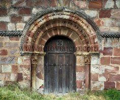 Puebla de San Vicente, #Palencia #Portada románica de la iglesia de #SanVicente #románico