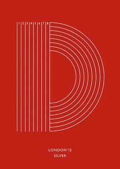 Bronce Laus 2013 | Diseño de alfabeto / Lettering / Tipografía experimental |  Título: London 2012 |  Autor: Astrid Stavro Studio |  Cliente: Random Projects
