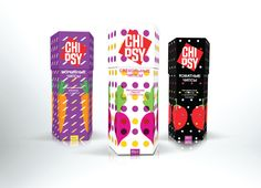 Chipsy - Vegetable Chips (Student Project) on Packaging of the World - Creative Package Design Gallery