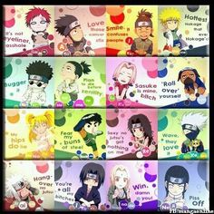 Haha Minato's is so true.... What...? LEAVE ME ALONE I LOVE HIM